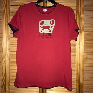 Lazy One Crab Graphic Short Sleeve T-Shirt
